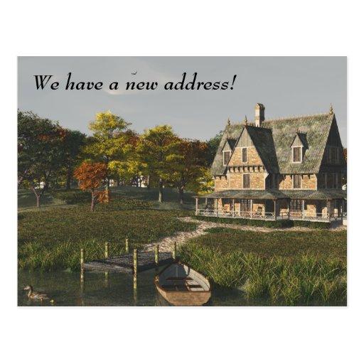 Casa en el lago - nueva postal de la dirección