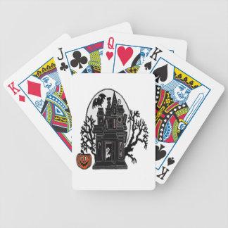Casa encantada baraja de cartas bicycle
