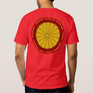 Casa imperial del rojo de Japón y de la camisa del