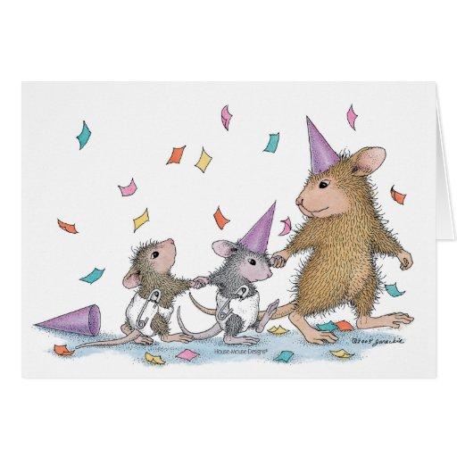 Casa-Ratón Designs® - nuevas tarjetas del bebé
