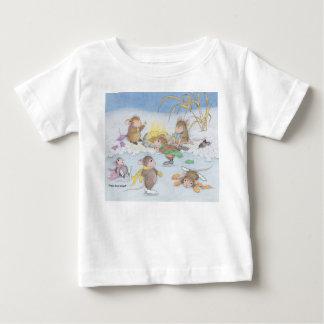 Casa-Ratón Designs® - ropa Camiseta De Bebé