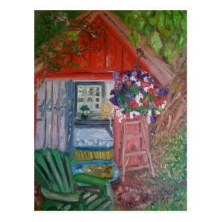 casa snoopy postales