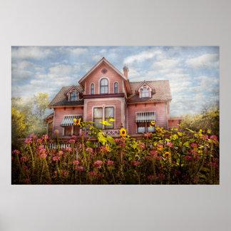 Casa - Victorian - cabaña del verano Póster
