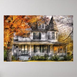 Casa - Victorian clásico Póster