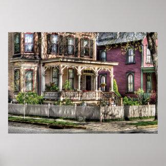 Casa - Victorian del país Póster