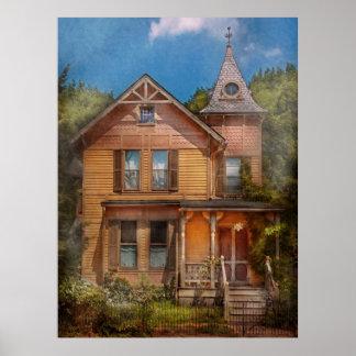 Casa - Victorian - el mesón díscolo Póster
