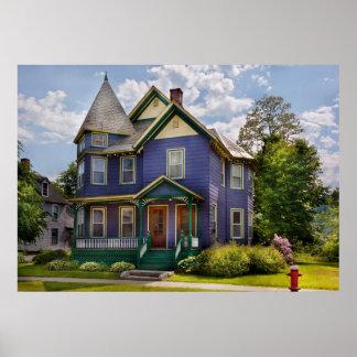 Casa - Victorian - la casa de las señoras mayores Póster