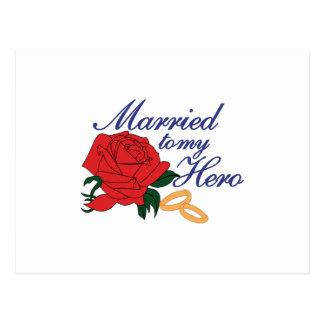Casado con mi héroe postal