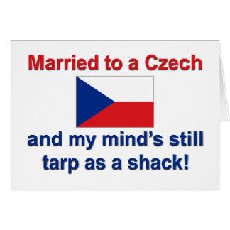 Casado con un checo… tarjeta de felicitación
