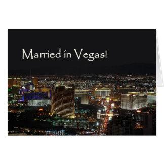 ¡Casado en Vegas! Tarjeta de la invitación
