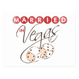 Casado en Vegas Postal