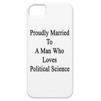 Casado orgulloso con un hombre que ama Scien iPhone 5 Funda