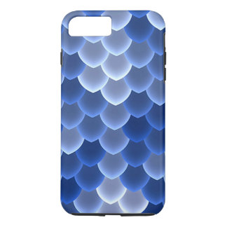 Casamata azul y blanca mística de la escala dura funda para iPhone 8 plus/7 plus