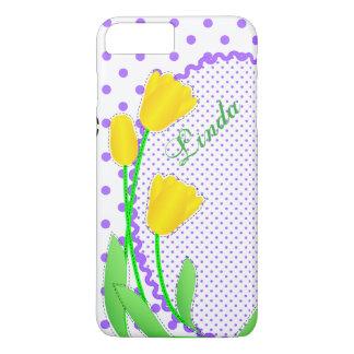 Casamata Barely There más tulipán amarillo del Funda Para iPhone 8 Plus/7 Plus