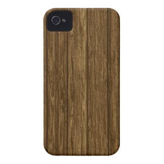 Casamata de madera del iPhone 4 de la impresión de Case-Mate iPhone 4 Carcasas