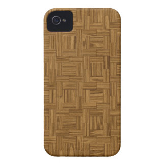 Casamata de madera del iPhone 4 de la impresión de iPhone 4 Case-Mate Coberturas