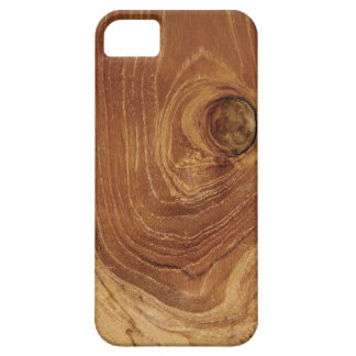Casamata de madera rústica del iPhone 5 de la foto Funda Para iPhone SE/5/5s