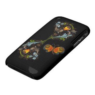Casamata de pintura floral florentina iPhone3 iPhone 3 Case-Mate Cobertura