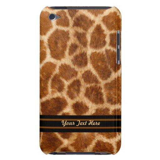 Casamata del tacto de iPod de la piel de la jirafa Case-Mate iPod Touch Fundas