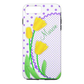 Casamata dura más iPhone 7 tulipanes amarillos del Funda Para iPhone 8 Plus/7 Plus
