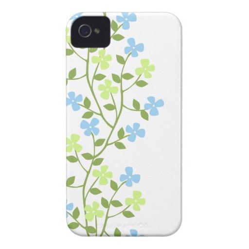 Casamata floral moderna delicada ID™ del iPhone 4 Carcasa Para iPhone 4 De Case-Mate