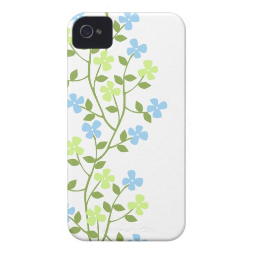 Casamata floral moderna delicada ID™ del iPhone 4 iPhone 4 Case-Mate Carcasas