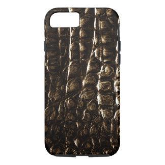 Casamata IPhone 6 de la piel del cocodrilo Funda Para iPhone 8/7