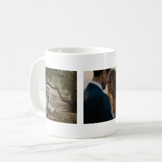 Casando tres pares de las fotos modificados para taza de café