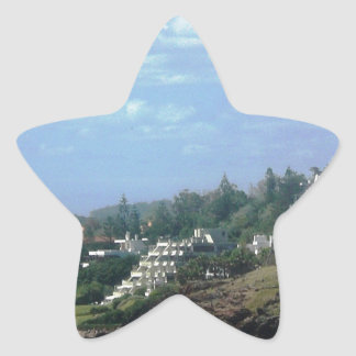 Casapueblo Uruguay Pegatina En Forma De Estrella