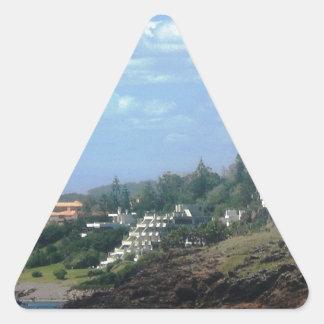 Casapueblo Uruguay Pegatina Triangular