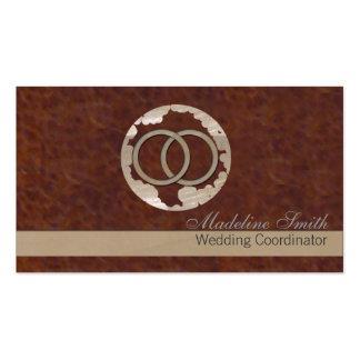 Casar al profesional tarjeta de negocio