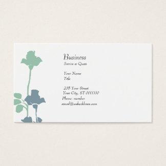 Casar el boutique en colores pastel pálido de los tarjeta de negocios