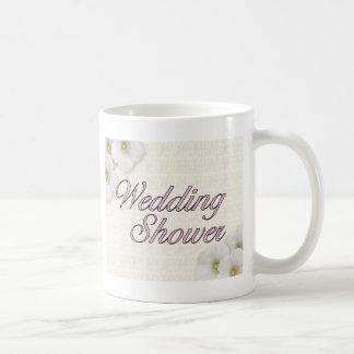 Casar la ducha taza básica blanca