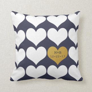 Casar la nueva almohada del regalo del aniversario