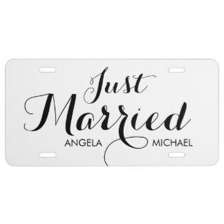 """""""Casar"""" la placa personalizada"""