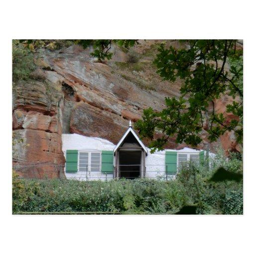 Casas de la roca del borde de Kinver Postal