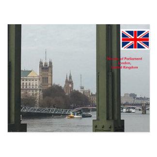 Casas del parlamento, Londres Reino Unido Postal