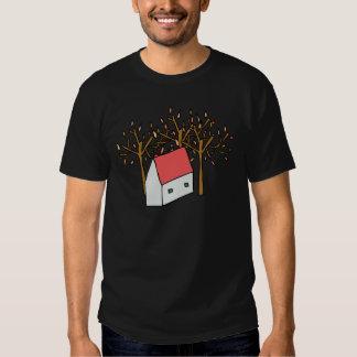 Casas Otoño Camisetas