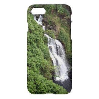 Cascada cerca de Hilo, Hawaii Funda Para iPhone 8/7