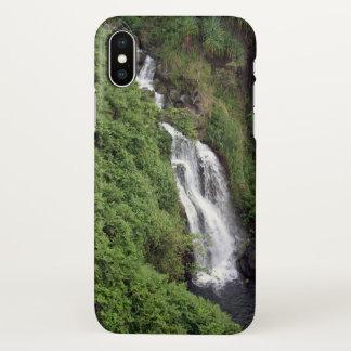 Cascada cerca de Hilo, Hawaii Funda Para iPhone X