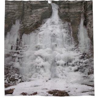 Cascada congelada del barranco