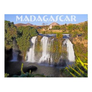 Cascada de Ampefy, Madagascar Postal