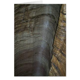 Cascada de la caverna felicitacion