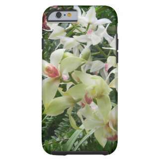Cascada de la orquídea funda resistente iPhone 6