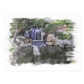 Cascada de los jardines de Sydney Oriental Postal