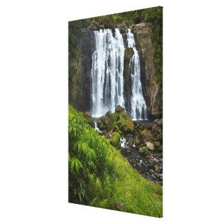 Cascada de Marokopa, Nueva Zelanda Impresión En Lienzo