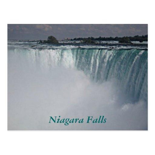 Cascada de Niagara Falls Postales