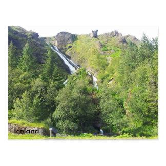 Cascada de Systrafoss, Islandia Postal