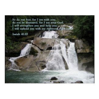 Cascada del 41:10 de Isaías Postal