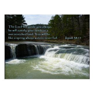 Cascada del 58:11 de Isaías Postal